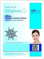 【DERMAL】ダーマル シートマスク ホワイト 10枚セット/保湿/フェイスマスク/フェイスパック/マスクパック/韓国コスメ [メール便]