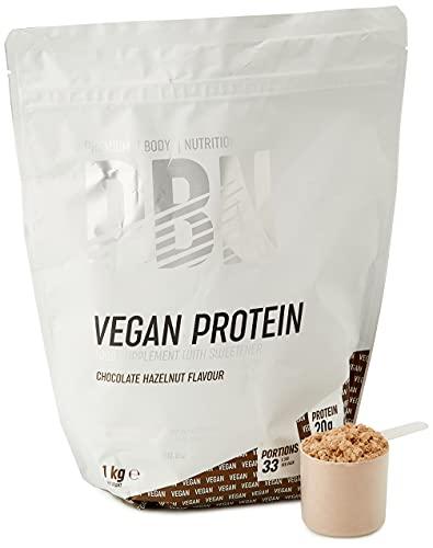 PBN Vegan Protein Chocolate Hazelnut 1kg Pouch