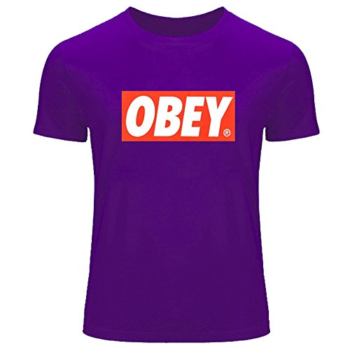 Obey Print Hip Pop for Men's T-Shirt Tee Outlet