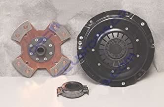 Kennedy 200Mm Clutch Kit Kennedy Stage 2 Pressure Plate, 4 Puck Disc, And Late Throw Out Bearing