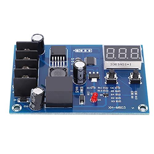 Módulo de control de carga de batería, placa de protección de interruptor automático, placa de carga de batería XH-M603, componente electrónico de PCB, 12~24 V