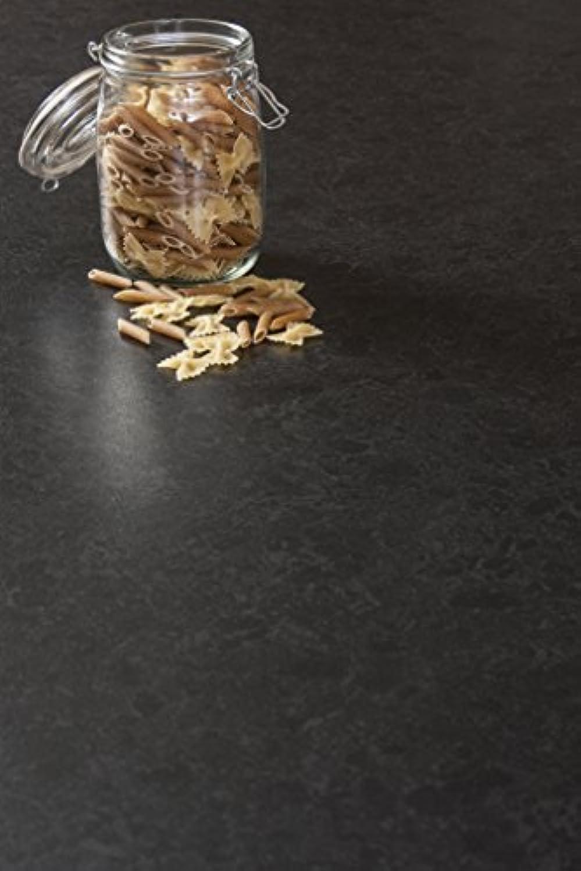 WORKTOPEXPRESS Schwarzer Granit - Resopal Küchenarbeitsplatten (3m × 600mm × 38mm)