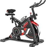 RTRD Bicicletas de Ejercicio Interior magnético, Bicicleta de Ciclismo Bicicleta de Ejercicio estacionario, cómodo cojín de Asiento
