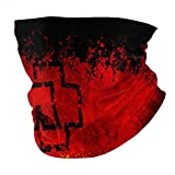 Face Cover,German Flag Ram-Mstein Logo,Facial Shield Cools When Wet Facial Covering Antidust Face Scarf Adult Kids Bandana for Summer Winter Running Outdoor