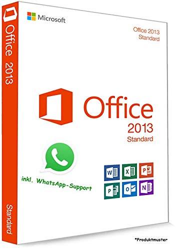 MS Office 2013 Standard LIZENZ KEY - POSTBRIEF-VERSAND - 32 / 64 Bit - 1 Aktivierung / 1 PC + Anleitung von U-S-B Unleashed-Shop-Bolt®