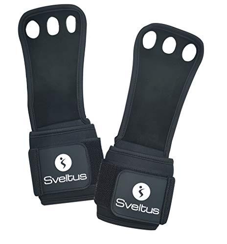 L//XL Black Sveltus Premium Adult Unisex Cross Training Glove
