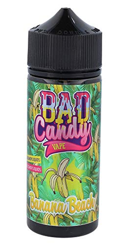 Banana Beach, Bad Candy Vape Longfill Aroma, sin nicotina