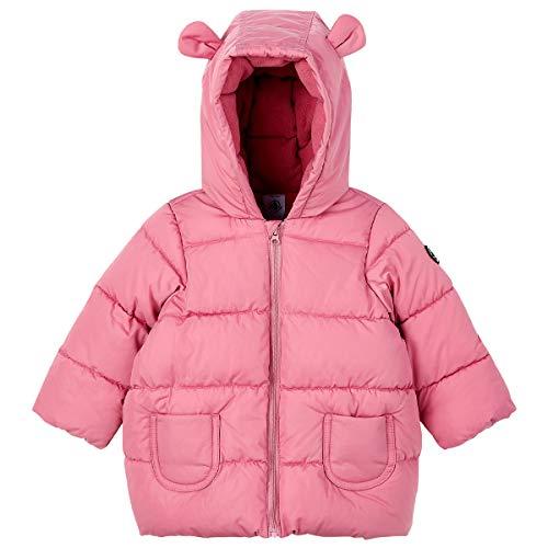 Petit Bateau 5614301 - Abrigo acolchado para bebé niña Cheek 18 meses