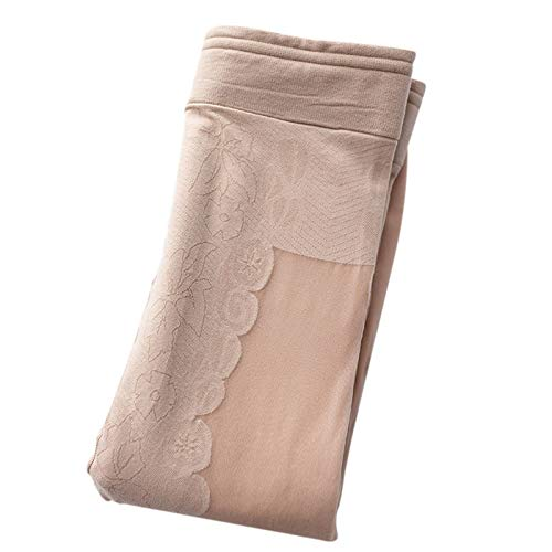 KUYG Fleece Gepolsterte Leggings Warme Strumpfhose Dicke Samt Strumpfhose Doppelschichthose für Frauen