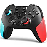 Advanced Features:Controller supports gyro axis function and dual motors vibration function. Vibration feedback gives you a compelling gaming experience. Super sensitive button sensing provides an accurate gaming experience. Dual analog sticks and ex...