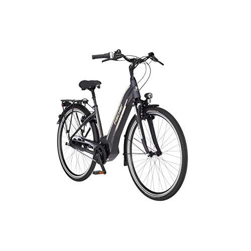 FISCHER E-Bike City CITA 5.0i, Elektrofahrrad, schiefergrau matt, 28 Zoll, RH 44 cm, Brose Drive C Mittelmotor 50 Nm, 36 V Akku im Rahmen