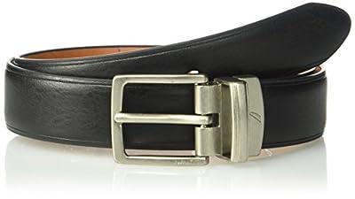 Nautica Big Boy's Reversible Belt, Black/Brown, 30