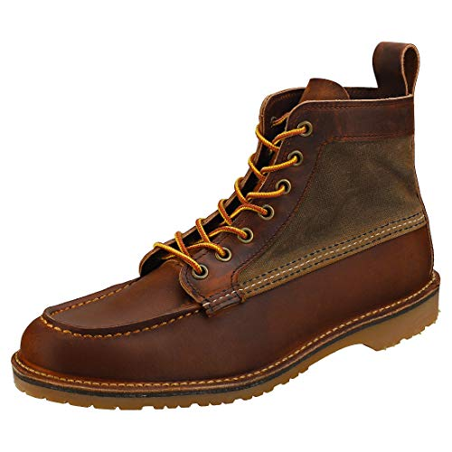 Red Wing Heritage Wacouta Canvas Moc Copper 8.5