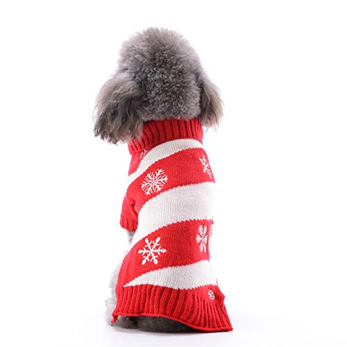 ABRRLO Hond Truien Kerst Outfits Kostuum Puppy Kat Winter Warm Knitwear Hoodies Sweatshirt Huisdier Kleding