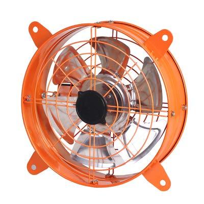 Rustig uitlaat fan, aan de muur gemonteerde badkamer ventilator, krachtige keukenraam afzuigkap, huishoudelijke roestvrij stalen ronde krachtige uitlaat fan