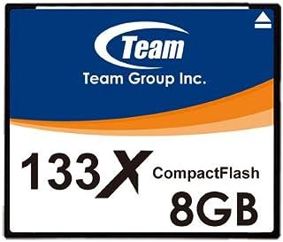 Team TEAM CFカード標準タイプ 133x 8GB TG008G2NCFF