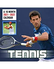 Tennis A 16 Month Calendar 2021-2022: 2022 Monthly Yearly Agenda BONUS 3 Months With US Open Superstars