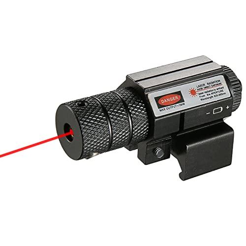 Mirini per fucili Mirino tattico Mirino a punti rossi Mirino laser con supporto per fucile Fucile Pistola / Pistola (supporto per Weaver) Mirini da caccia