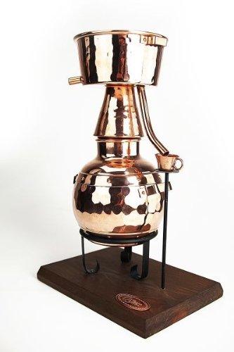 'CopperGarden®' Miniatur-Alquitara 0,5L Teelicht