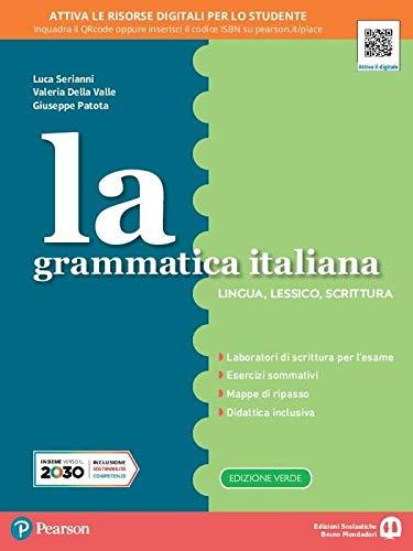 La grammatica italiana. Morfosintassi. Ediz. separata. Per la Scuola media. Con e-book. Con espansione online