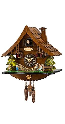 Engstler Reloj cucú de Cuarzo Casa de la Selva Negra