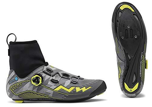 Zwölfender Northwave Flash Arctic GTX - Botas de invierno para bicicleta de carreras (talla 41), color amarillo