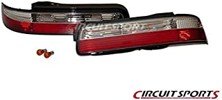 Circuit Sports Rear Clear Tail Light Kit for Nissan 240SX S13 (89-94)