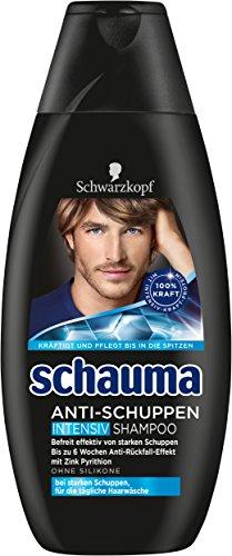 Schwarzkopf Schauma Anti-Schuppen Intensiv Shampoo, 4er Pack (4 x 400 ml)