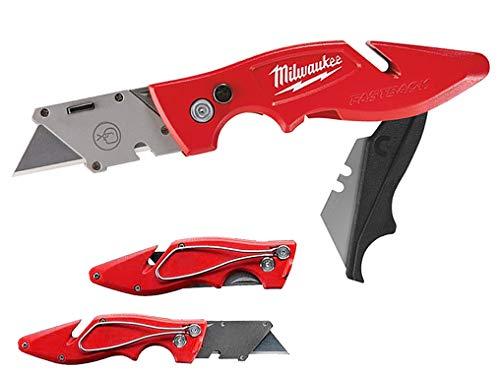 Milwaukee MIL48221902 Universal-Klappmesser GEN II, Rot Silber