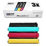 3x Eurotone Toner per Brother MFC-L 8600 8650 8850 wie TN-326 TN326 Colore