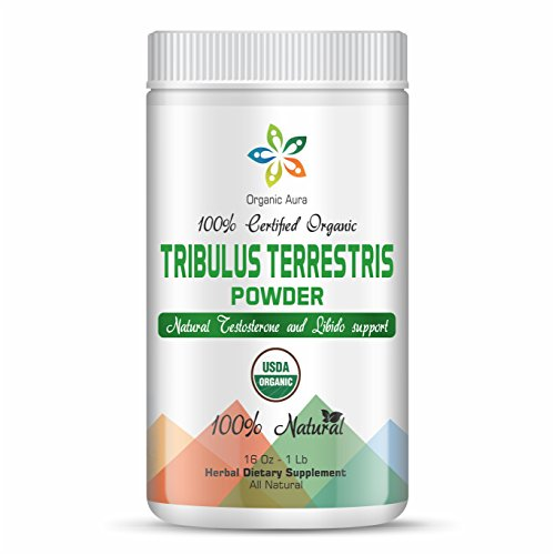 small Up to 16 oz Organic Aura Tribulus Terestris Powder – 1 lb of Steroid Saponin. Of course…