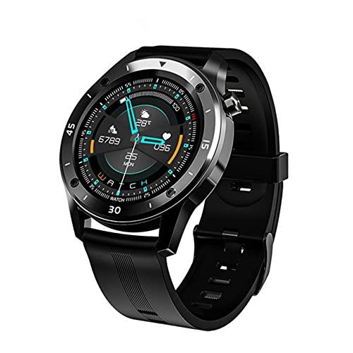 Uniqueheart F22 Relojes Deportivos Inteligentes para Hombre, Mujer, Regalo Inteligente, Reloj Inteligente, rastreador de Ejercicios, Pulsera, iOS, Relojes Inteligentes inalámbricos - Azul