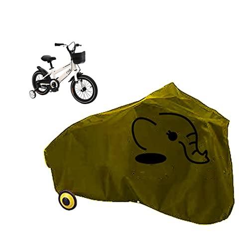 Gettop Bicicletas Infantiles Funda- Impermeable, Anti Dust y Duradero - Accesorios Bicicleta para Bicicleta de Montaña y Bicicleta de Carretera Infantiles- Cubierta Protector Al Aire Libre