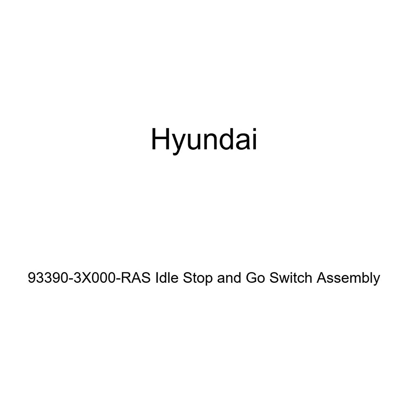 Genuine Hyundai 93390-3X000-RAS Idle Stop and Go Switch Assembly