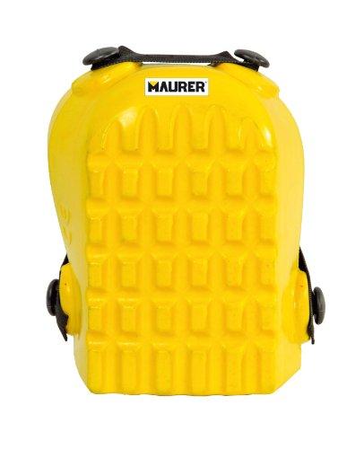 Maurer 15040105 Juego de Rodilleras Protectoras, Amarillo
