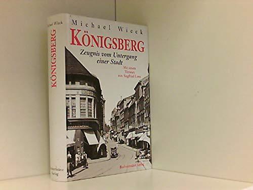 Zeugnis vom Untergang Königsbergs.