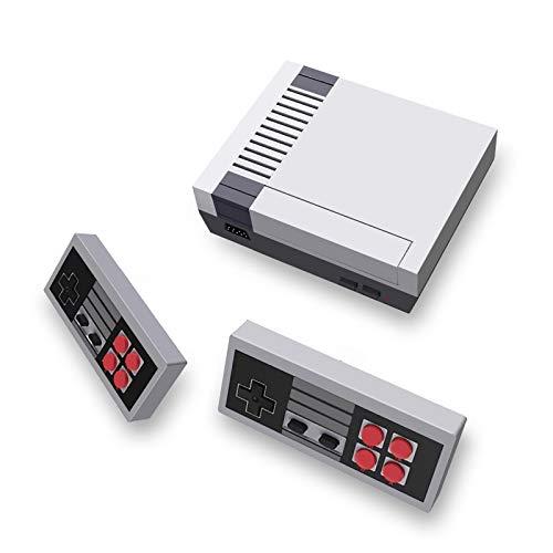 Classic Mini Retro Game Console Built-in 620 Games and 2 Wireless 2.4G Controllers, Children's AV...