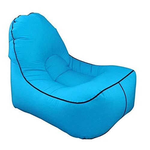 Opblaasbare luchtlounge bank buiten strandstoel woonkamer luie zitzak ligstoel camping wandelen vissen stoelen tuinbank, 01