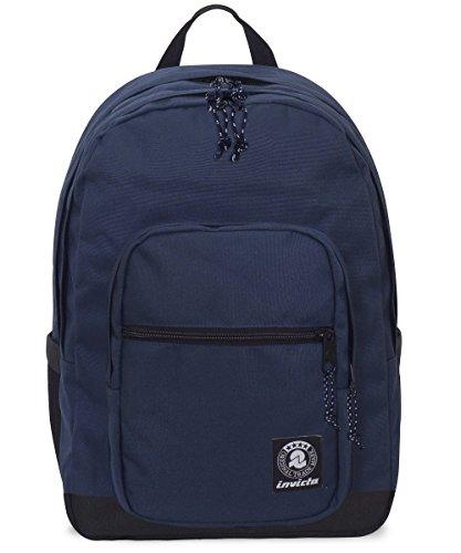 ZAINO INVICTA - JELEK - Blu scuro - tasca porta pc padded - 38 LT -
