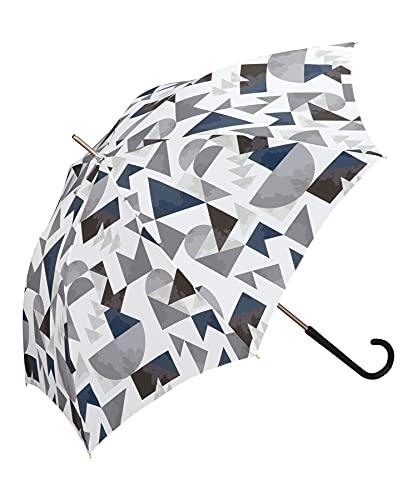 ワールドパーティー(Wpc.) 雨傘 長傘 積み木 ブラック 58cm レディース 76498-01