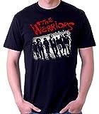 Desconocido 35mm - Camiseta Hombre The Warriors - Los Amos de La Noche - Pelicula de Culto - Negro - Talla XXL