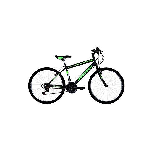 Masciaghi Bicicletta Mountain Bike Ruota 26 per Ragazzo Nera