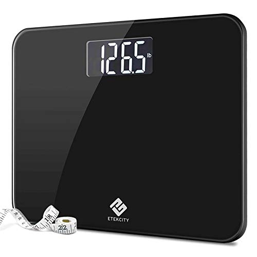 Etekcity High Precision Digital Body Weight Bathroom Scale with Ultra Wide Platform and Easy-to-Read...