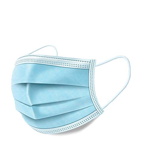 FOLAVI Face Masks 50 Pcs 3 Player - Blue