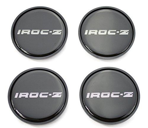 GM Restoration 1985-1987 IROC Z Camaro Z28 16 inch Aluminum Wheel Center Caps Silver Set of 4 New