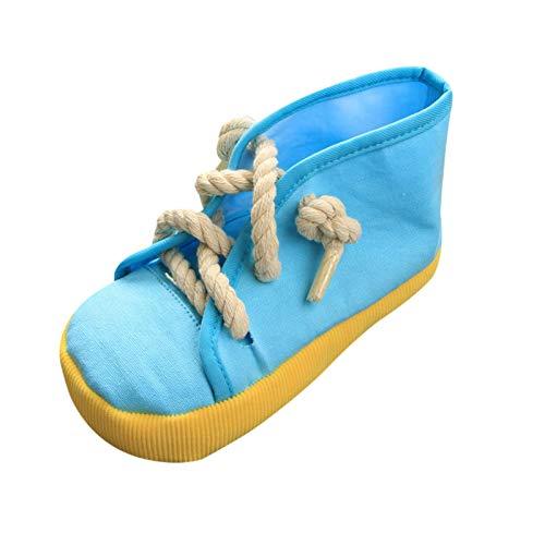 Quietschendes Kauspielzeug für Hunde, sichere lustige Schuhe, Spielzeug für die Zahnreinigung des Haustiers