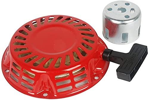 SYCEZHIJIA Piezas de Repuesto para cortacésped Conjunto de Taza de Arranque de Arranque de Retroceso para Honda GX120 GX140 GX160 GX200 Generator 4/5.5/6.5 HP Motor Accesorios para cortacésped
