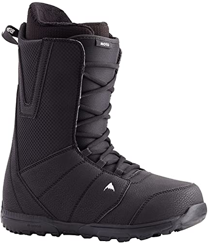 BURTON Moto Lace Mens Snowboard Boots Sz 14 Black