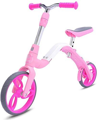 LINGZHIGAN Bicicleta de Equilibrio Kick Mini Kids Bicicleta de Equilibrio Vespa de los niños del bebé Edad 3-5