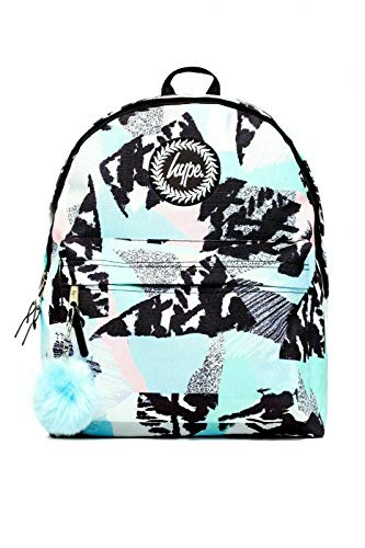 Hype Backpack Rucksack School Bag for Girls Boys | Pastel Abstract | Ideal Travel Day Shoulder Pack